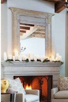 52 Best Mantel Decorating Images In 2016 Fire Places Home Decor