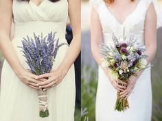 Unique Ways to Use Lavender at Your Wedding Lavendar-Bridal-Bouquets – Tulle and Teacups