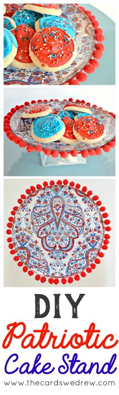 DIY Patriotic Cake S