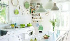 How to get this look (something to consider for summer, perhaps?) http://bit.ly/1E1x9fo #kitchen #design #decor