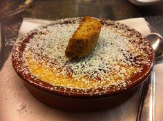 Crema catalana. Coco's - Pizza e Cucina Mediterranea - Tarquinia Lido (Vt) 338/6064127