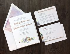 Local and long distance freelance or contracted work. Formal Wedding Invitations, Event Invitations, Invitation Envelopes, Floral Invitation, Invite, Emerald Cut Engagement, Engagement Ring Cuts, Metropolitan State University, Floral Backdrop