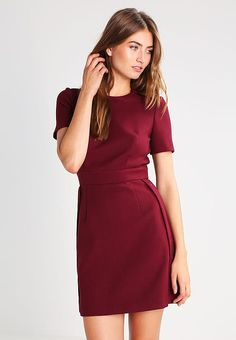 ELLA - Summer dress - burgundy - Zalando.co.uk