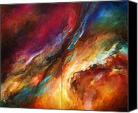 'sea Storm' Painting by Michael Lang - 'sea Storm' Fine Art Prints and Posters for Sale