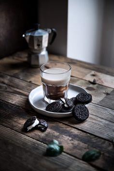 Cubetti di caffè ghiacciato alla vaniglia - Coffee Ice Cubes