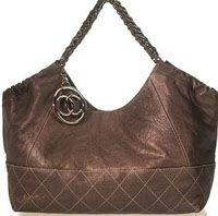 Chanel handbag cabas shopper tote