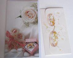 Wedding Money Card Holder and greeting card set / Wedding set