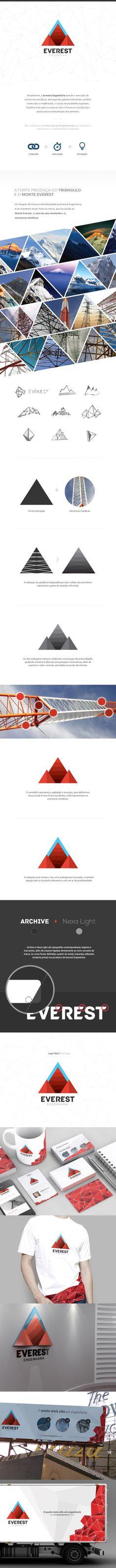 Rebrading Everest Engenharia Branding, Graphic Design