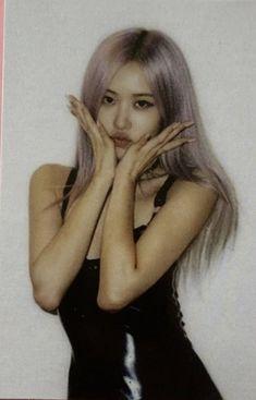Kpop Girl Groups, Korean Girl Groups, Kpop Girls, Blackpink Icons, Blackpink Video, Rose Icon, Black Pink Kpop, Rose Park, Blackpink Photos