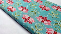 Riley Blake Designs Apple of My Eye Blue Floral Print Quilting Craft Sewing Fabrics Blue Design, Floral Design, Riley Blake, Home Decor Fabric, Cotton Quilts, Quilting Projects, My Eyes, Floral Prints, Sewing