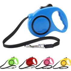 3M 5M Long Automatic Retractable Pet Dog Leash Adjustable Puppy Collar Dog Harness Walking Training Lead Extending Traction Rope // Worldwide FREE Shipping //     #dogsupplies