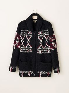 Great Collection.  Love this sweater jacket - lsabel Marant for H&M collection is Parisian chic with an urban attitude.