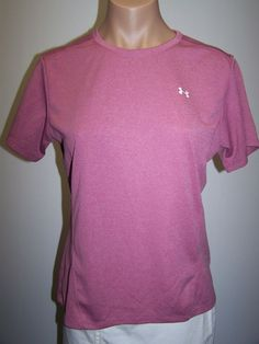 Under Armour Women's Top Size Med 100% Polyester  #UnderArmour #KnitTop #Casual