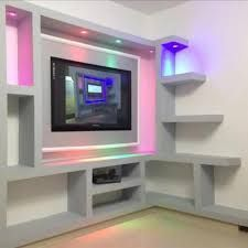 "Exceptional ""tv wall mount diy"" detail is available on our website. Have a look and you wont be sorry you did. Tv Unit Decor, Tv Wall Decor, Diy Tv Wall Mount, Wall Mounted Tv, Tv Wall Design, Tv Unit Design, Interior Design Companies, Decor Interior Design, Single Floor House Design"