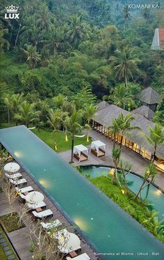 Komaneka Resorts at Bisma, Ubud, Bali is a collection of boutique hotels, each carefully created to fulfill travelers' expectations of upscale luxury lifestyle in a spacious hotel room or villa, surrounded by Ubud's natural beauty, and looked after by welcoming expert staff. Awarded Condé Nast Travel's hot list in 2009 and TripAdvisor's Travelers' Choice Best 25 Hotels in Indonesia and Asia 2015. #komaneka #komanekabisma #ubud #baliresort #luxury #luxuryresort #luxurybaliresort