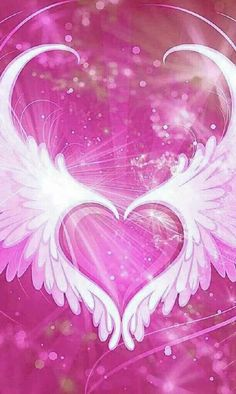 By Artist Unknown. Wings Wallpaper, Wallpaper Images Hd, Heart Wallpaper, Purple Wallpaper, Butterfly Wallpaper, Cute Wallpaper Backgrounds, Love Wallpaper, Pretty Wallpapers, Galaxy Wallpaper