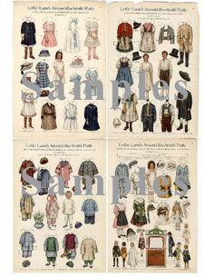 Paper Doll Vintage Lettie Lane