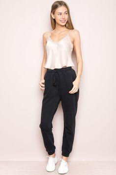 nice Brandy ♥ Melville |  Rosa Sweatpants - Clothing...