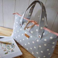 artchala handmade: HandCarry Bag : Simple Dots