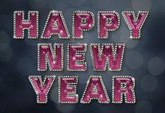 Create a Glamorous Sparkling New Year Text Effect in Adobe Photoshop | design.tutsplus.com