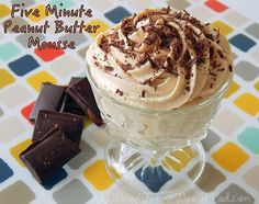 Low Carb Peanut Butter Mousse Recipe