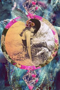 Mystic Art // Digital + Graphic Design // The Beauty of Creative Expression // Spellbound: Kat Graham Xavier Veilhan, Sacred Feminine, Collage Art, Creative Art, Cool Art, Contemporary Art, Artsy, Graphic Design, Artwork