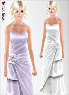 Dress 45-I by Irida - Sims 3 Downloads CC Caboodle