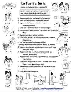 Teaching Spanish w/ Comprehensible Input: La Guerra Sucia - 2 graphic organizers High School Spanish, Ap Spanish, Spanish Grammar, Spanish Language Learning, Spanish Teacher, Spanish Classroom, Teaching Spanish, Teaching Culture, Spanish Posters