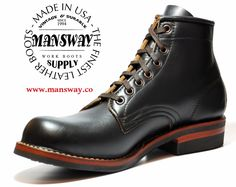 mansway Boots www.mansway.co