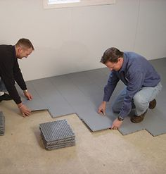 Awesome Basement Floor Options Over Concrete