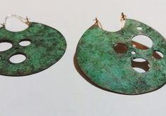 Argollas cobre oxidado. Www.juangil.org
