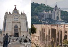 A campanha do governo chinês para demolir igrejas cristãs na China | #CarolWickenkamp, #CristãosDomésticos, #Demolição, #FalunGong, #IgrejasCristãs, #PartidoComunistaChinês, #PerseguiçãoReligiosa