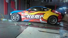 PORTALS STICKER : Toyota 86 HGMP RACING TEAM