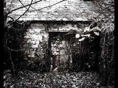 Irish landscape - Mystic Black-And-White Landscape Photography Photography Series, Fine Art Photography, Nature Photography, Outdoor Photography, Landscape Photography, Abandoned Farm Houses, Berlin, Irish Landscape, Black And White Landscape