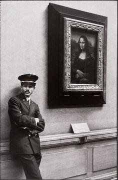 Mona Lisa, Museu do Louvre, de Alécio de Andrade, Paris, 1971