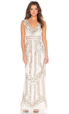 Lovers + Friends x REVOLVE The Ballroom Dress in Champagne