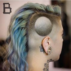 "Woah. Totally trippy hair tattoo. Likes, 13 Comments - ⚜️IG Best Hair Dessert Daily⚜️ (@hairdesserts) on Instagram: ""Should I call this eclipse or sink hole @gopanache . Please comment Great work by…"""