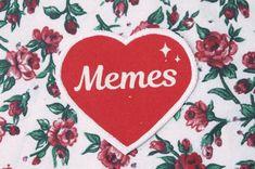 J'ai le cœur mèmes fer sur Patch, Patch Punk toile, sérigraphié