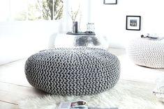 Taburetka Leeds Grey L Tire Furniture, Diy Furniture Decor, Furniture Making, Pouf Design, Chair Design, Pastel Decor, Leeds, Grey Ottoman, Ottomans