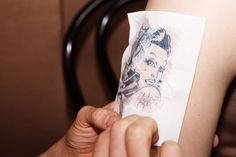 Angelina Avallone Broadway's Cabaret Tattoo Application IntotheGloss.com