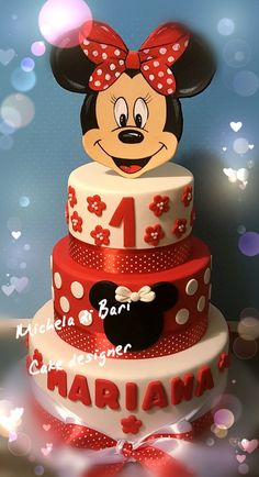 Minnie cake 1