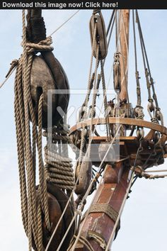rigging-of-an-ancient-sailing-vessel-26734346.jpg (1064×1600)