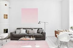 Apartment with a Touch of Pink