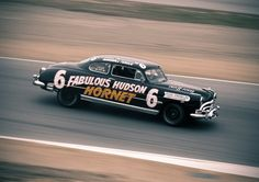 "........ 1951 Fabulous Hudson Hornet ......**  NASCAR famed Hudson was the first automobile manufacturer to get involved in stock car racing.The Hornet ""dominated stock car racing in the early-1950s, when stock car racers actually raced Stock Manufactured Cars!"