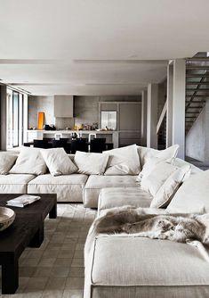 low chunky furniture_grey sofa_modern_minimal_CHUNKY SOFA