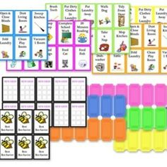 Okay now this is what I needed tpo get this project up and running!    Awesome printable kids chore/responsibility chart