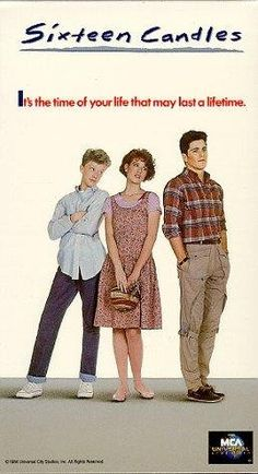 #SixteenCandles...love it