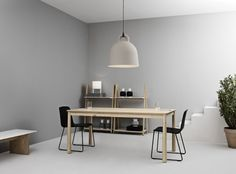 Side Lamp, Bell Lamp, Nyhavn Vases, Bop Table, Just Chair