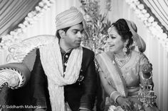Indian Bride and Groom, Candid Moments