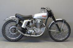 BSA-1957-goldstar-scrambler #motorcycles #scrambler #motos | caferacerpasion.com